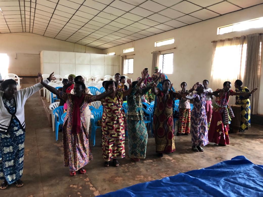 women's dance first day